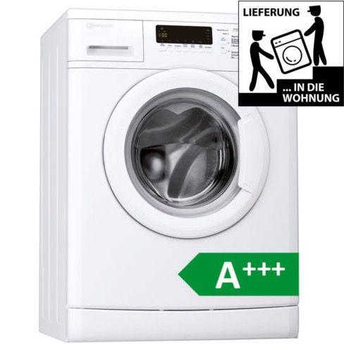 Bauknecht WAK 74 Waschmaschine mit 7kg und A+++ für 279€ (statt 364€)