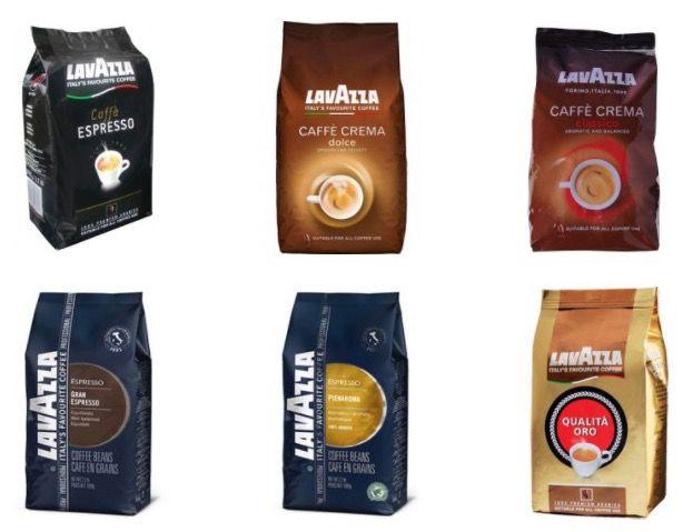 10% Rabatt auf Lavazza Kaffeebohnen   z.B. 4kg Lavazza Caffe Crema Classico für 45,32€ (statt 53€)