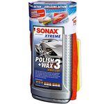 Wieder da! Sonax Xtreme Polish & Wax 3 Hybrid (500 ml) + Schwamm + Mikrofasertuch für 11,99€ (statt 15€)