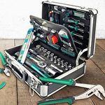 Mannesmann Werkzeugkoffer mit 90 oder 108 Teilen ab 76€