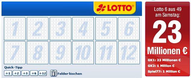 Bildschirmfoto 2017 03 18 um 12.57.08 Lottobay 5€ Gutschein mit nur 5€ MBW (23 Mio. Jackpot!)   Nur für Neukunden