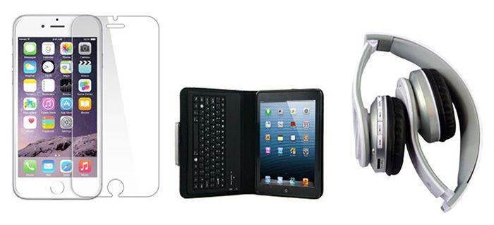 geeko Zubehör für iPhone, iPad, Macbook, GoPro uvm.   z.B. Schutzhüllen ab 4€