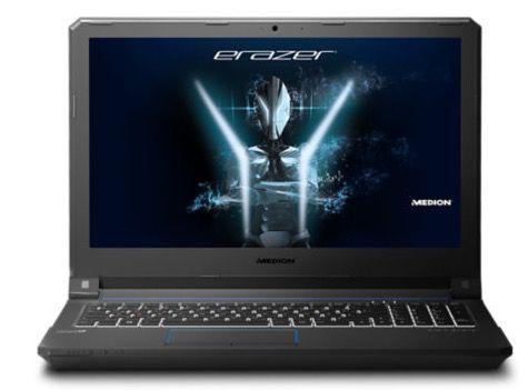 Medion Erazer X6601   15,6 Zoll Gaming Notebook mit 512GB SSD + 1,5TB HDD für 1.099€ (statt 1.299€)