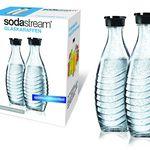 2er Pack SodaStream Glaskaraffen je 0,6L für 19€