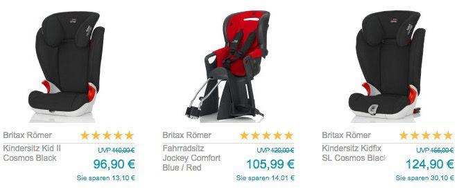 Babymarkt mit 10% oder 10€ Rabatt   z.B. Britax Römer Evolva 123 für 107,99€ (statt 120€)