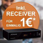 freenet.TV (DVB-T2) Premium + HD Receiver (6 Monate Laufzeit) für 5,75€mtl. – bis 30.6.2017 kostenlos!