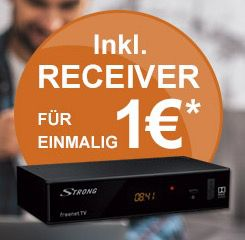 freenet.TV (DVB T2) Premium + HD Receiver (6 Monate Laufzeit) für 5,75€mtl.   bis 30.6.2017 kostenlos!