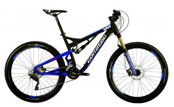 Corratec E Bikes, Trekkingbikes & Mountainbikes bei vente privee   z.B. Inside Link 120 Y Mountainbike für 1.594€ (statt 2.499€)