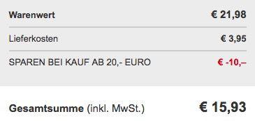 24er Set Leonardo Ciao Trinkgläser für 15,93€ (statt 23€)