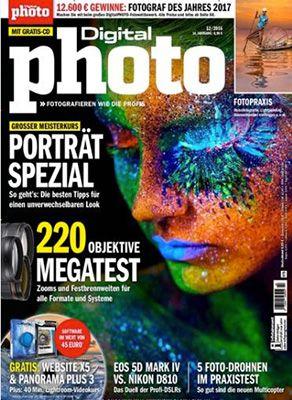 12 Ausgaben Digitalphoto Kamera Zeitschrift für 82,80€ + 40€ Gutschein