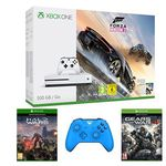 Xbox One S 500GB + Forza Horizon 3 + Halo Wars 2 + Gears of War 4 + 2. Controller für 334,30€ (statt 422€)