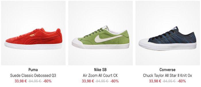 Knaller! HHV Sale mit bis zu  70% + 5€ Gutschein ab 50€   z.B. Nike Sb Air Zoom All Court CK für 38€ (statt 60€)