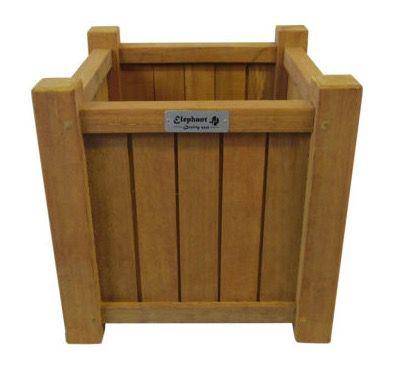 Bangkirai Holz Pflanzenkübel für 14,99€ (statt 40€)