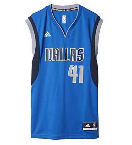 adidas Dallas Mavericks Jersey Dirk Nowitzki Trikot für 44,99€ (statt 55€)