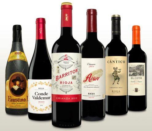 Rioja Wein Probierpaket (6 Fl.) für 36€