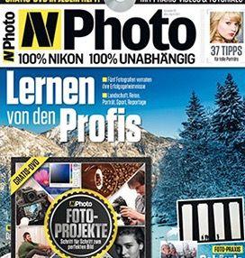 6 Ausgaben N Photo für 39,90€ + Kalahari Swave S14 Fototasche (Wert 63€)