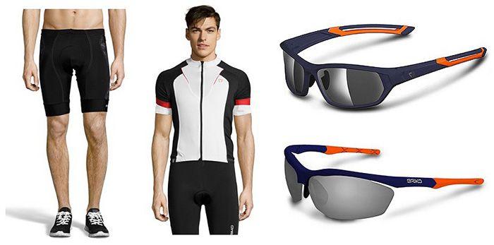 Briko Radsport Kleidung & Accessoires bei vente privee   z.B. Endure Pro Team Sonnenbrille ab 39€ (statt 55€)