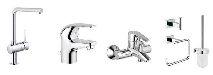 Grohe Sale bei Veepee   z.B. Bade  und Duschsysteme, vieles für WC und Küche