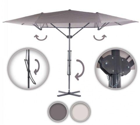 Strattore Sonnenschirm 4,25 x 2,50m für 61,95€ (statt 73€)