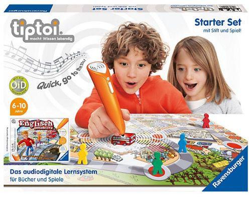 tiptoi Starter Set Die Englisch Detektive mit Stift und Spiel für 28,44€ (statt 38€)