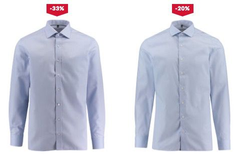 Günstige Herren Hemden von Eterna, Olymp und Co. ab 25,41€ zzgl. VSK bei engelhorn