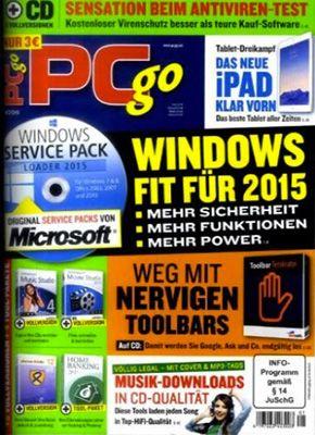 Jahresabo PC Go classic DVD XXL für 73,80€ + 45€ Gutschein