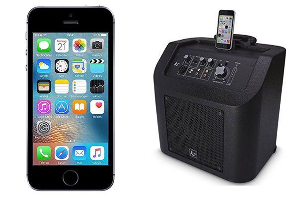 iPhone SE + KitSound Kingston Lautsprecher + Vodafone Allnet mit 2GB für 29,99€ mtl.
