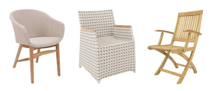 Villeroy & Boch Gartenmöbel bei vente privee   z.B. Monza PL11 Stuhl ab 249€(statt 379€)