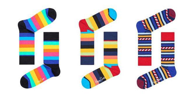 Happy Socks Sale bei Veepee (vorher Vente Privee)   z.B. 3 Paar Socken ab 14€ (statt 19€)