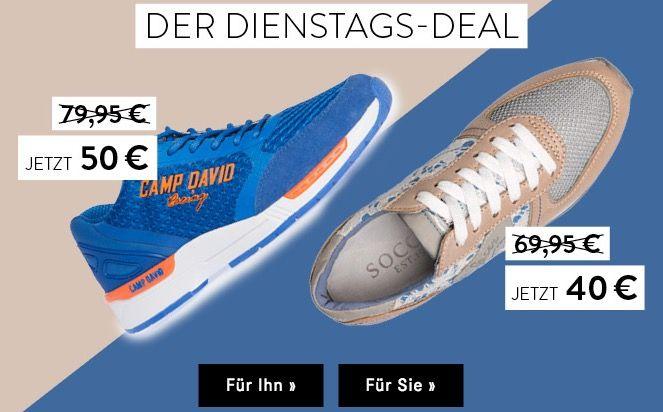 Camp David Sneaker für Damen und Herren ab 44,95€ (statt 80€)