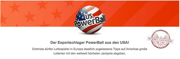 1 Feld Powerball (553 Mio. Euro Jackpot!) + 20 Rubbellose für 1,99€   nur Neukunden