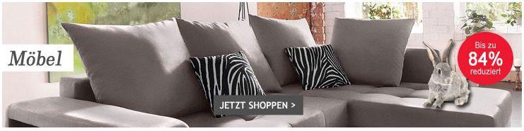 Neckermann mit bis zu 89% Rabatt auf ausgewählte Möbel & Heimtextilien + VSK frei ab 75€