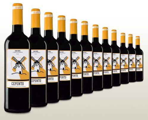 12 Flaschen samtiger Rotwein aus Spanien für 34,90€