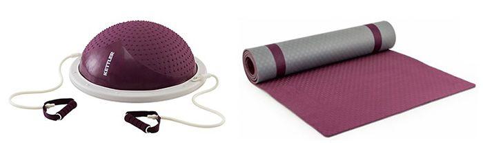 Kettler Yoga Matte Pro + Handtuch für 44€ (statt 60€) oder Balance Step für 65€ (statt 97€)