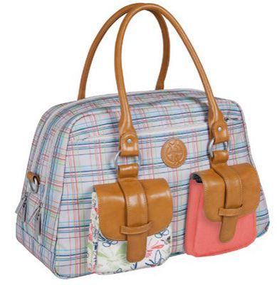 Schnell? Lässig Metro Bag Vintage Wickeltasche für 39,99€ (statt 74€)
