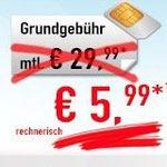 Nur bis 18 Uhr! Vodafone Allnet-Flat mit 1GB für 5,99€ mtl.