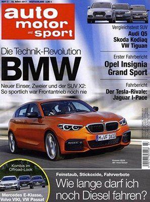 Top! 6 Ausgaben auto motor und sport gratis zzgl. 4,95€ VSK   automatisch auslaufend!
