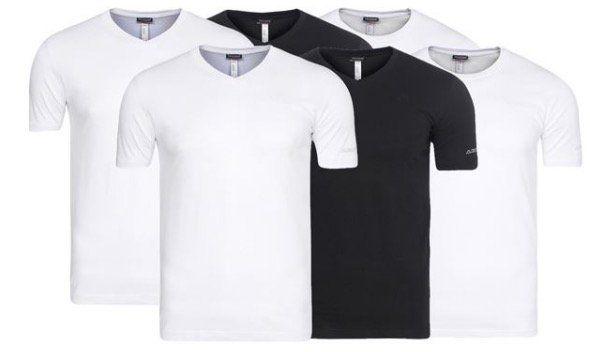4er Pack Kappa Sebbo 2 oder Tobias Herren T Shirts (L 2XL) für 12,99€ (statt 25€)