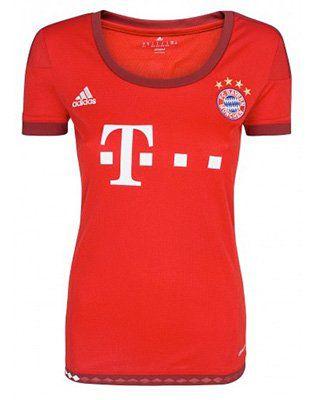 Schnell! adidas Performance FC Bayern München Damen Trikot für 7,99€ (statt 18€)