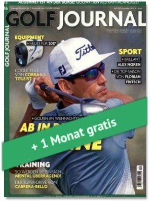 3 Ausgaben Golf Journal für 18,90€ + 20€ Gutschein