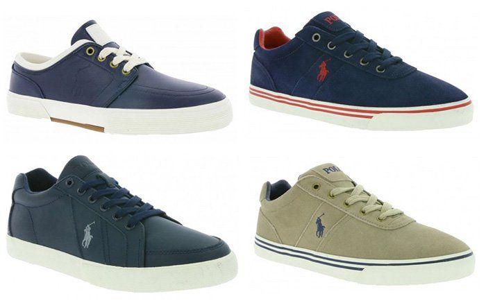 Polo Ralph Lauren Herren Sneaker Tyrian & Churston für je 39,99€ (statt 58€)