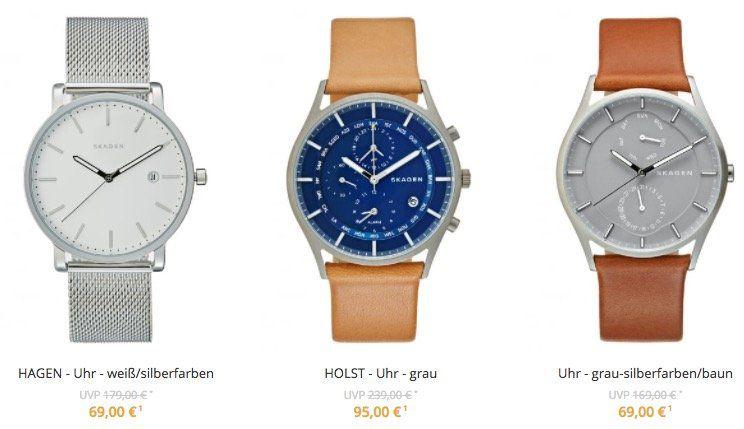 Skagen Uhren & Schmuck in der Zalando Lounge   z.B. Skagen Hagen Uhr für 84,90€(statt 123€)
