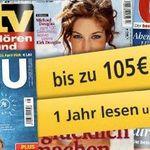 TV Zeitschriften Jahresabos mit guten Prämien – HÖRZU, Gong und TV hören und sehen