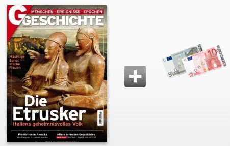 6 Ausgaben GESCHICHTE für 22,62€ + 15€ Amazon Gutschein oder Verrechnungsscheck