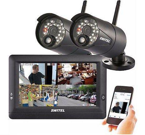 Switel HSIP 5000   drahtloses Digital HD Überwachungssystem inkl. 2 Kameras für 248,35€ (statt 331€)
