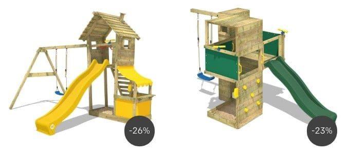 12% Rabatt auf ausgewählte Garten Produkte bei Rakuten   z.B. Wickey Smart Cube Spielturm für 809,56€ (statt 880€)