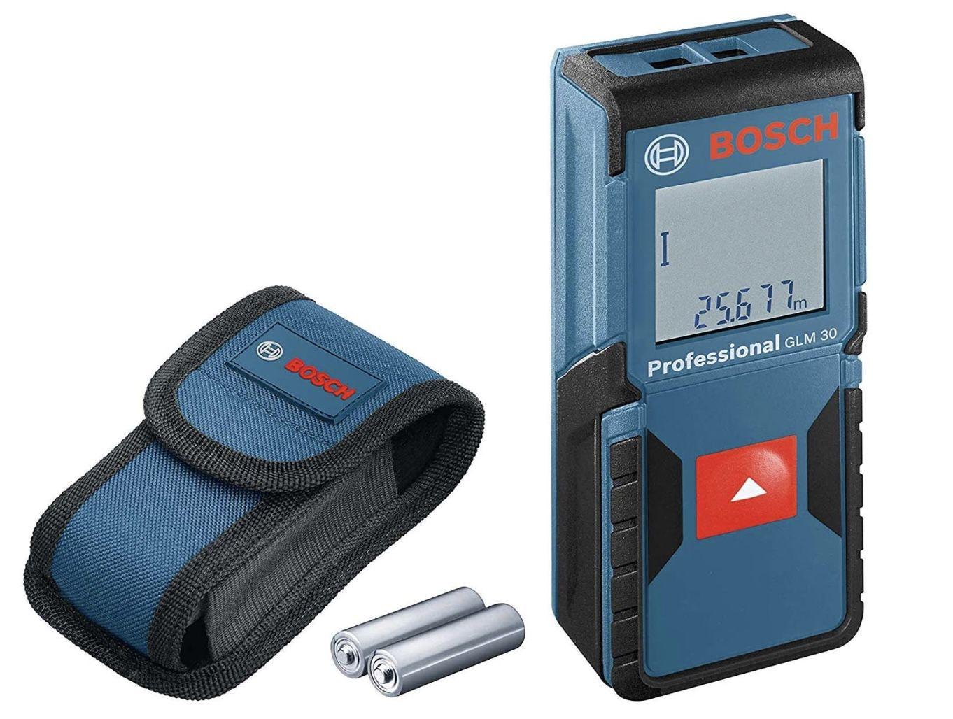 Bosch GLM 30 Laser-Entfernungsmesser für 44,99€ (statt 56€)