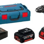 Bosch GSR 18 V-EC – Akkuschrauber mit 2. Akku 4,0 Ah Li-Ion in L-Boxx für 222€