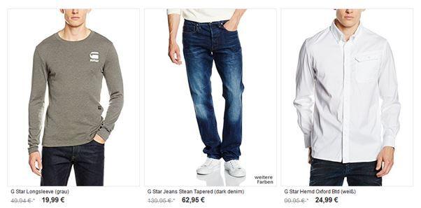 BuyVip mit bis 60% auf G Star Damen und Herren Fashion   günstige Shirts, Jeans, Jacken & Co.