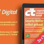 3 Ausgaben c't digital gratis – Kündigung erforderlich